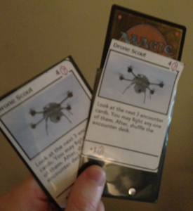 Iteration 1, Card Samples
